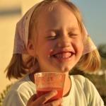 Dominika-Maślanka z miodem i truskawkami